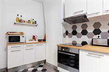 Furnished apartment for long term or short term rental for 2, near Bercy Village in Paris 12th
