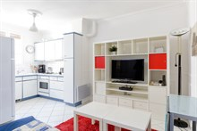 Short-term rental of a furnished apartment on rue Daguerre Paris 14th district