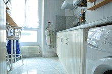charming apartment to rent short term for 4 on rue Hallé Paris 14th