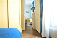 seasonal rental apartment furnished for 4 Paris 14th district