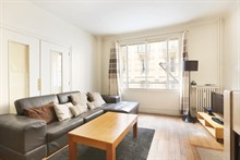 temporary rental for beautiful apartment furnished rue de Siam Paris XVI