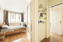 spacious apartment rental sleeps 4 rue de Siam Paris 16th