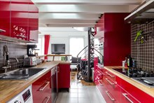 Furnished apartment duplex for rent for short stays, 2 bedrooms, sleeps 4 to 6, near la Manufacture des Gobelins, Paris 13th
