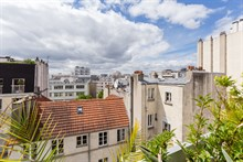 Weekly rental of 2 person duplex apartment with balcony at Nation in Paris 11th
