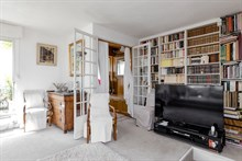Rent furnished luxury apartment (duplex) by month or week, Nation Paris 11th arrondissement