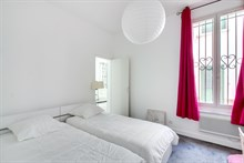 Modern apartment (duplex) for rent by month or week near Paris in Puteaux