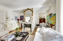 Modern ground-floor apartment sleeps 2 to 3, great for short term rental, Paris 6th
