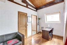 Monthly furnished rental for two large studio boulevard Haussman Paris eigth district 8th arrondissement