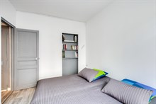 Furnished weekly rental two bedroom for four in Boulogne