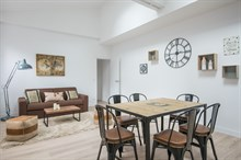 Weekly luxury rental for up to six two bedrooms in Charles Michels Paris fifteenth district / 15th arrondissement