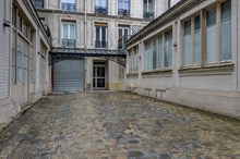 Spacious 3-room apartment in Paris' 10th district with space to comfortably sleep 4 during short-term stays