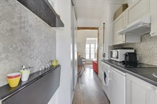 Large studio with balcony for two in République Paris eleventh district / 11th arrondissement