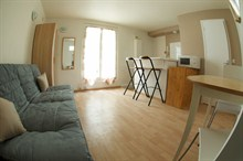 short term rental apartment for 2 in Pernety Paris 14th district