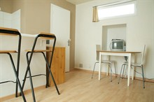 short term rental apartment for 2 in Paris Pernety 14th district