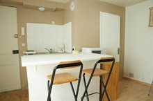 furnished apartment rental sleeps 2 guests in Pernety Paris 14th district