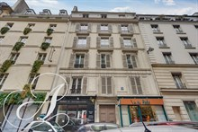 Large and quiet furnished studio to rent close to Champs Elysées in Paris 8th district