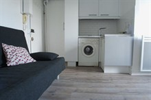 Furnished studio for rent short stay 17e Paris boulevard Pereire