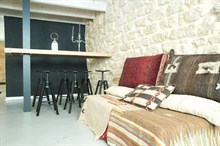 Seasonal duplex rental located in Marais Paris
