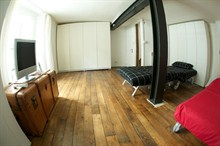 Unique furnished for rent for 8 people Marais Paris 3rd district