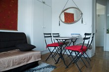 seasonal rental apartment furnished to sleep 4 on rue Pétion Paris XI