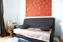 spacious apartment to rent for 4 near Voltaire in the 11th district Paris
