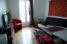 seasonal rental apartment furnished for 4 guests near Voltaire Paris 11th district