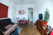 furnished apartment to rent for 4 guests in Golden Triangle near Voltaire Paris XI