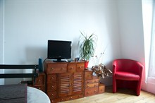 furnished apartment to rent short term on rue Pétion Paris 11th district