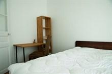 short term rental apartment furnished to sleep 4 near Voltaire rue Pétion Paris XI
