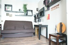 Short term rental for 2 center of 17th district passage Daunay Paris
