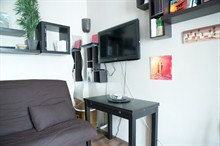 Seasonal rental fro 2 furnished Paris 17th