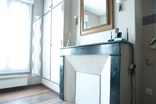 For rent furnished short term rental studio Paris