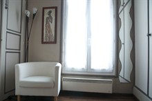 Furnished short stay rent 17th district Paris