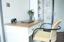 Seasonal rental for 2 studio 17th district Batignolles Paris