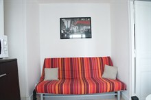 seasonal rental at the foot of Montmartre for 5 guests rue de Steinkerque Paris XVIII