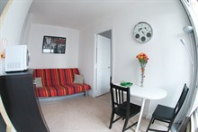 elegant apartment to rent short term for 5 guests opposite Sacré Coeur Paris 18th