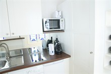 short term studio rental apartment for 4 on rue du Temple Paris III