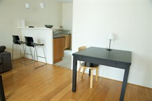 Short term lodging for 4 in duplex apartment w/ balcony, rue de la Petite Truanderie, Paris 1st