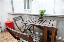 Luxurious 4-person stay in short-term rental duplex flat, rue de la Petite Truanderie, Paris 1st