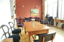 beautiful duplex to rent for 4 guests 800 sq ft montmartre paris XVIII