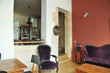 charming duplex to rent weekly 2 bedroom for 4 in Paris montmartre XVIII