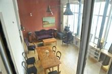 rent a furnished duplex for 4 guests 2 bedroom on rue ramey paris xviii