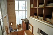 modern weekend rental duplex for 4 guests 2 bedroom on rue ramey paris 18th