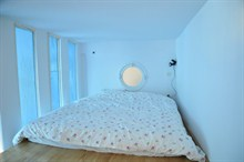 elegant duplex to rent monthly for 4 guests 2 bedrooms on rue Ramey Paris 18th