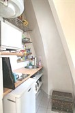 modern studio with terrace to rent sleeps one guest on rue de Tocqueville Paris XVII