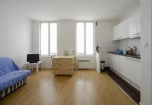 short term rental apartment for 3 guests, 270 sq ft, Paris 13th district