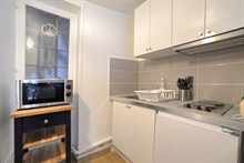 temporary rental for beautiful studio furnished rue Saint Jacques Paris V
