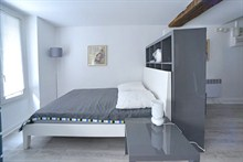 spacious studio rental sleeps 4 rue Saint Jacques Paris 5th