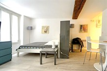 modern apartment to rent weekly for 4 guests rue Saint Jacques Paris 5th