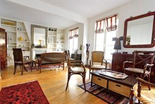 Furnished duplex to rent for the week 1200 sq ft rue Saint Charles Paris 15th district
